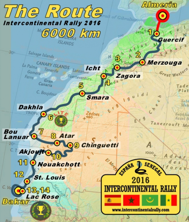 Intercontinentalrally 2016